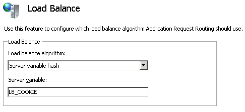 Advanced Cookie-based session affinity with Application